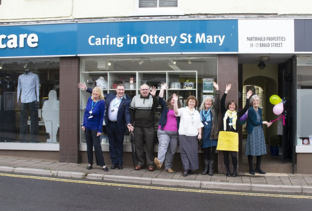 Hospiscare Ottery shop re-opening