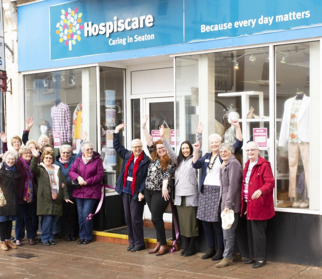 Hospiscare Seaton shop reopening