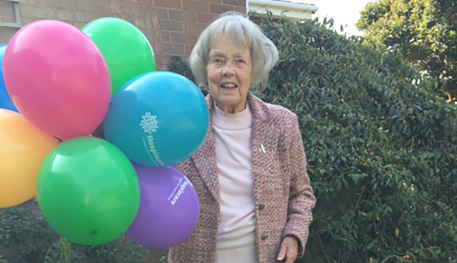 Granny Joan takes on 2.6 challenge for Hospiscare