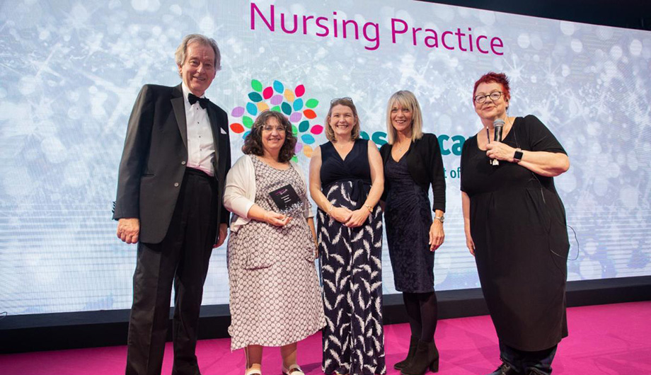 Hospiscare wins national award for excellence in nursing