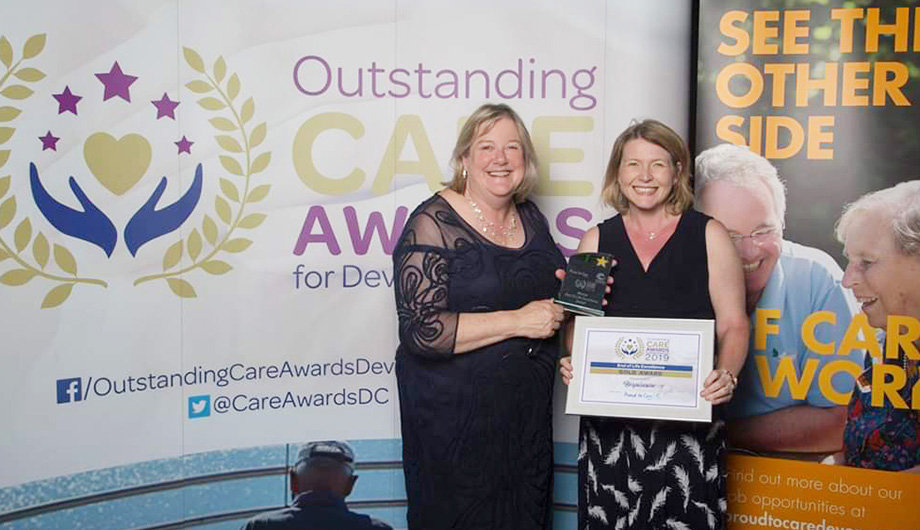 Hospiscare wins GOLD award for excellence in end of life care