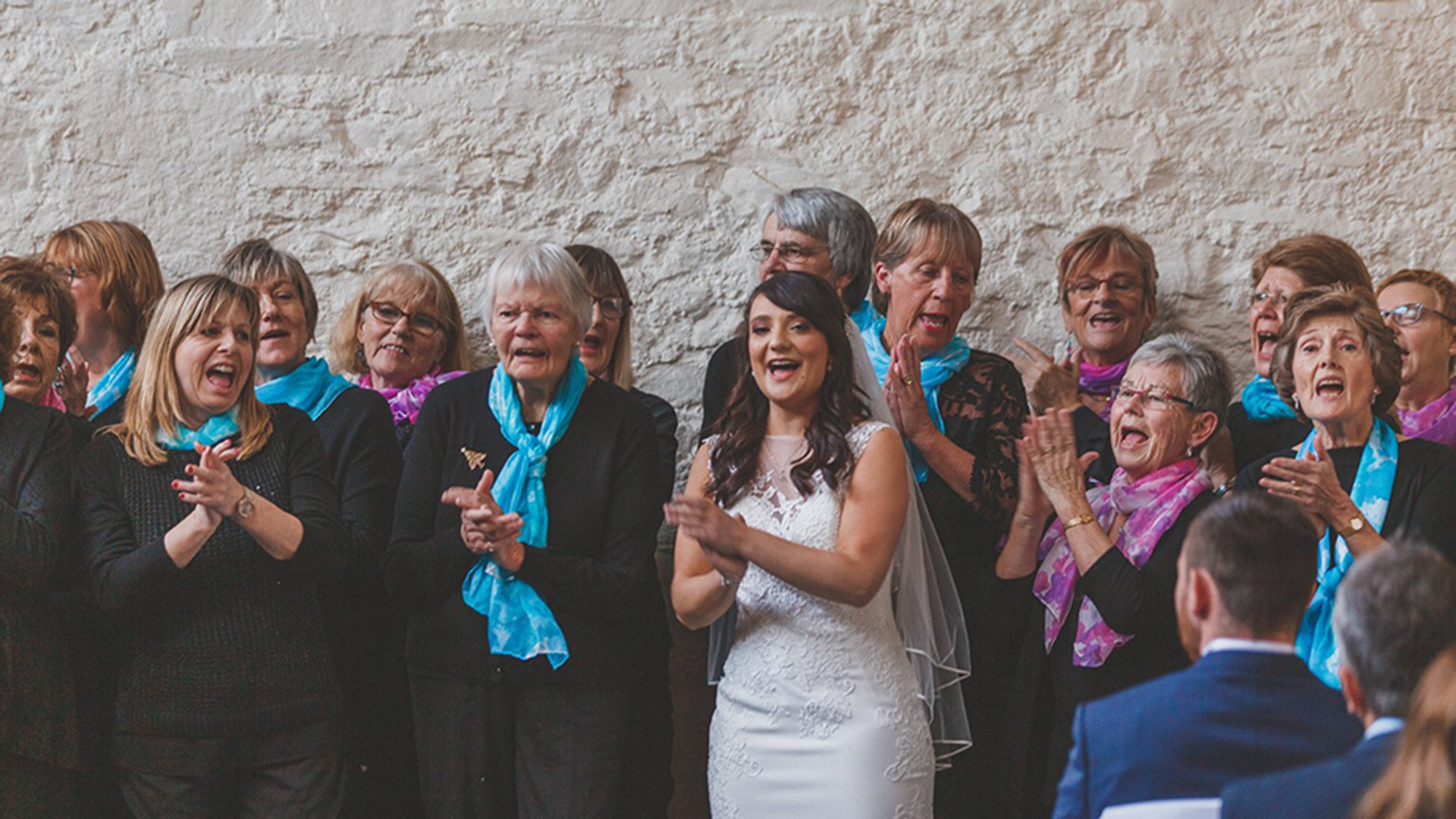 Rachel's story - Hospiscare sang at my wedding