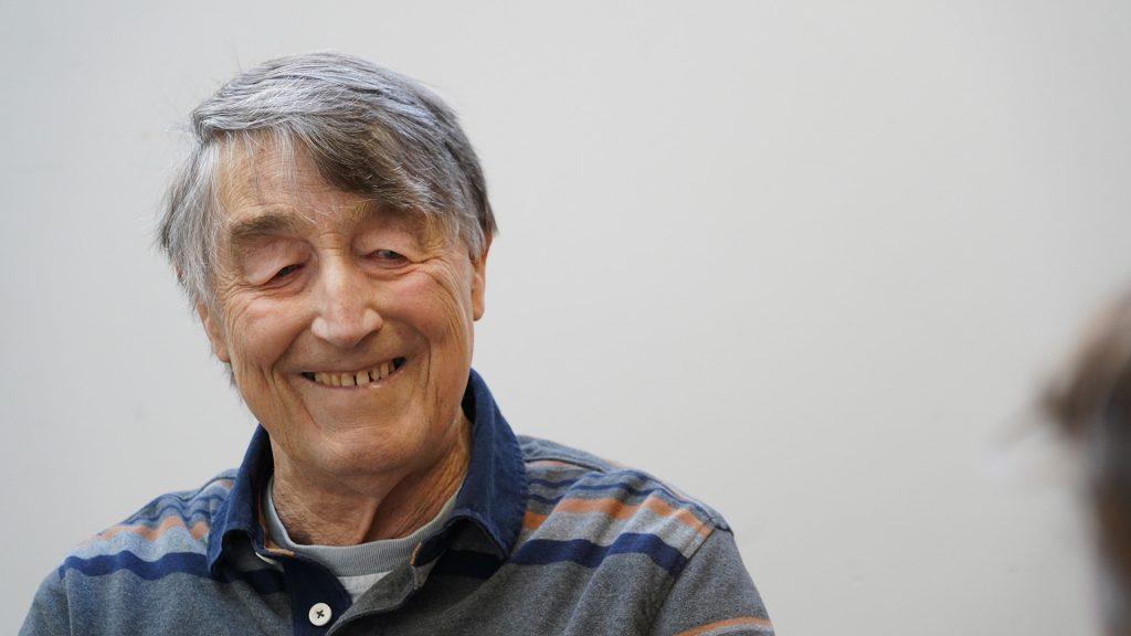Hospiscare patient Richard smiling