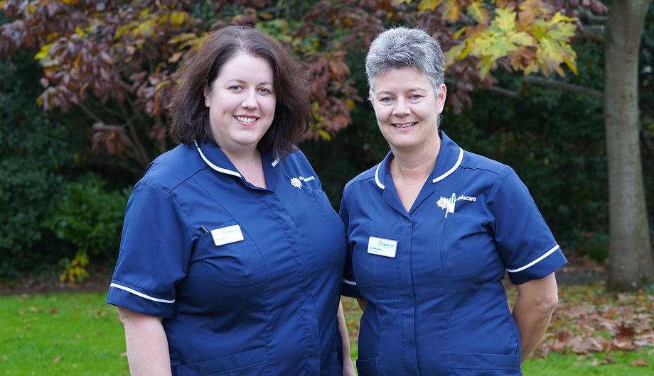 Specialist palliative care nurses