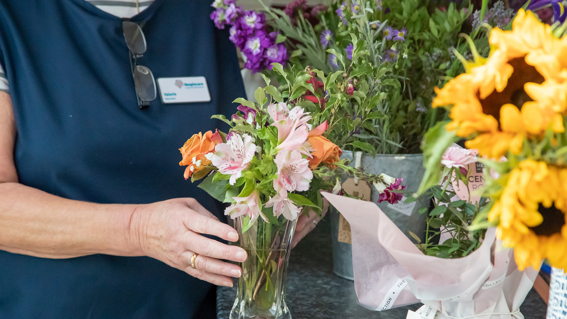 Funeral collections and flower donations