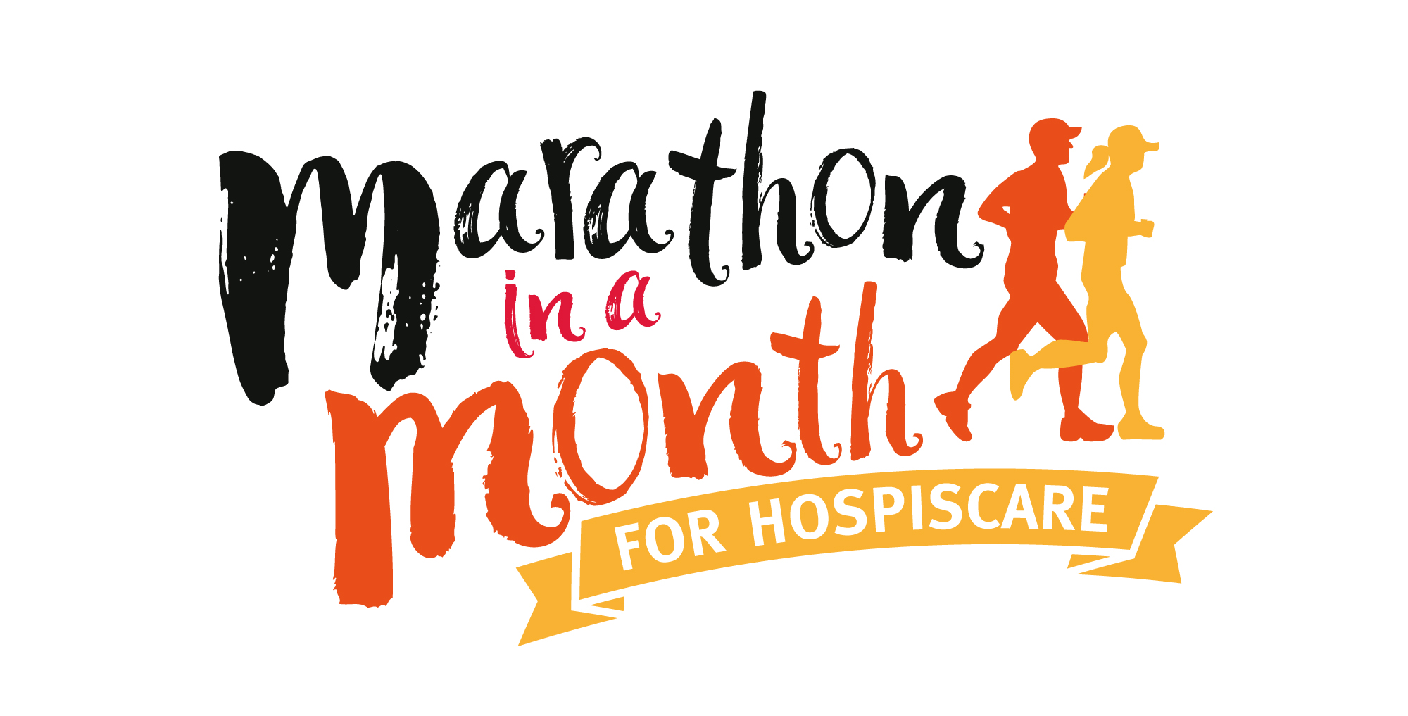Marathon in a Month for Hospiscare logo