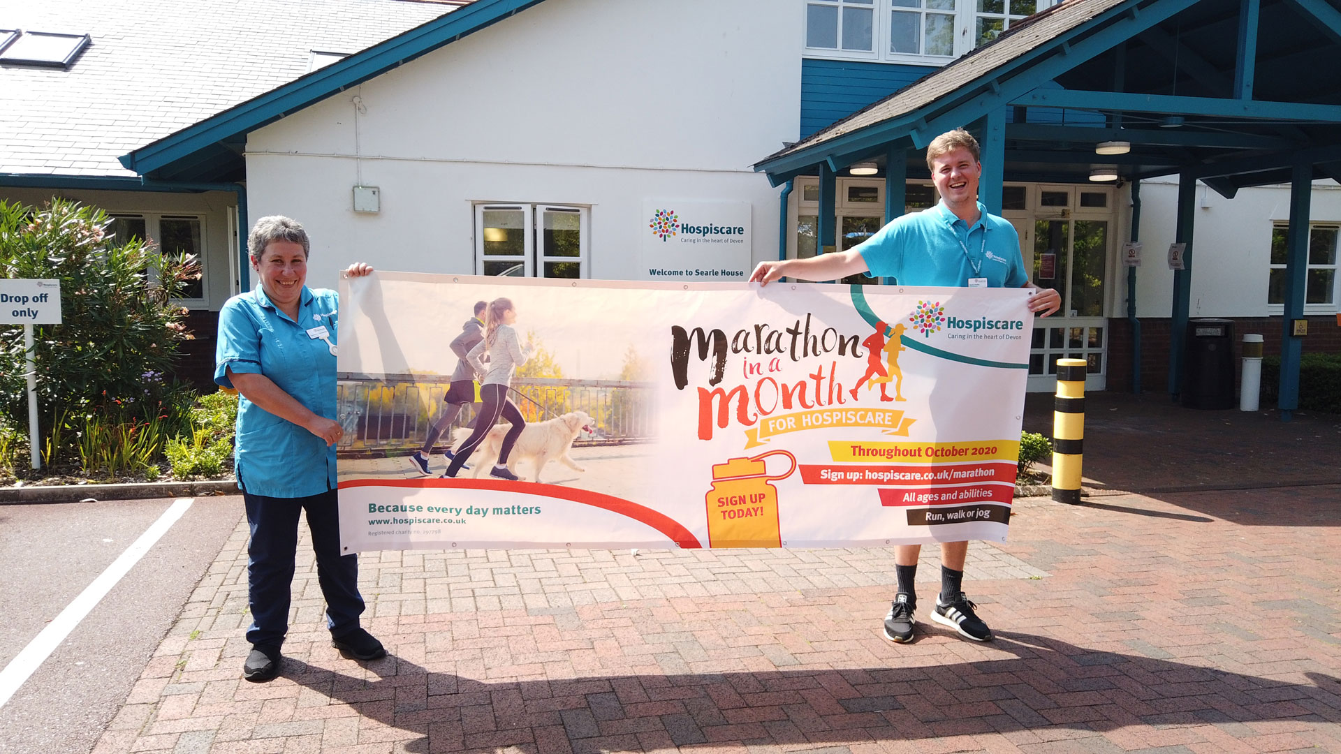 Put your best foot forward for Hospiscare!