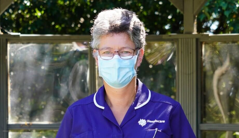A day in the life of a Hospiscare nurse during the pandemic