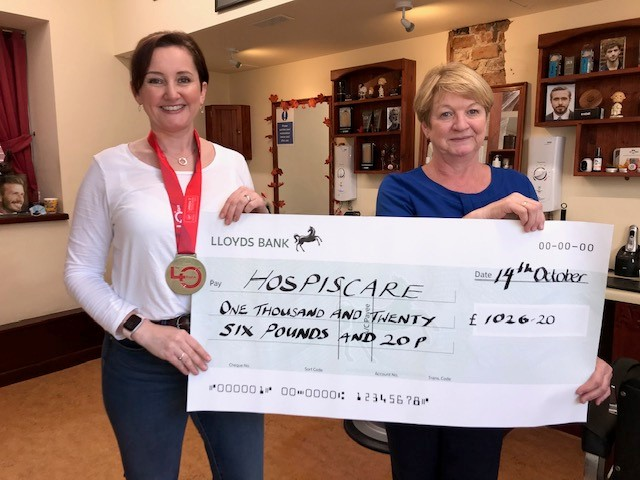 Hospiscare Heroes – From marathons to table top sales