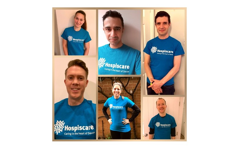 Six images of Hospiscare fundraisers