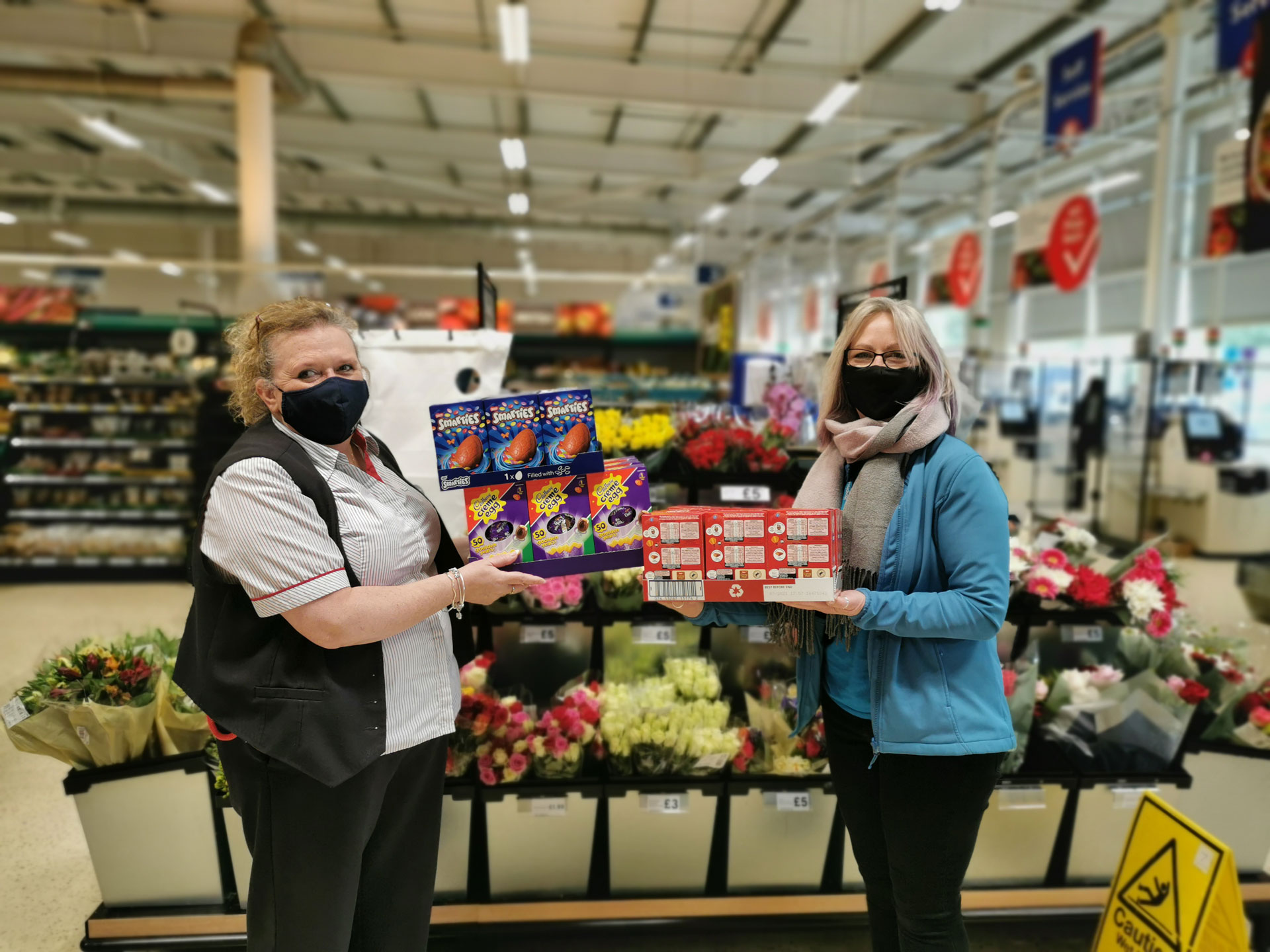 Hospiscare Heroes – An egg-stra special thank you