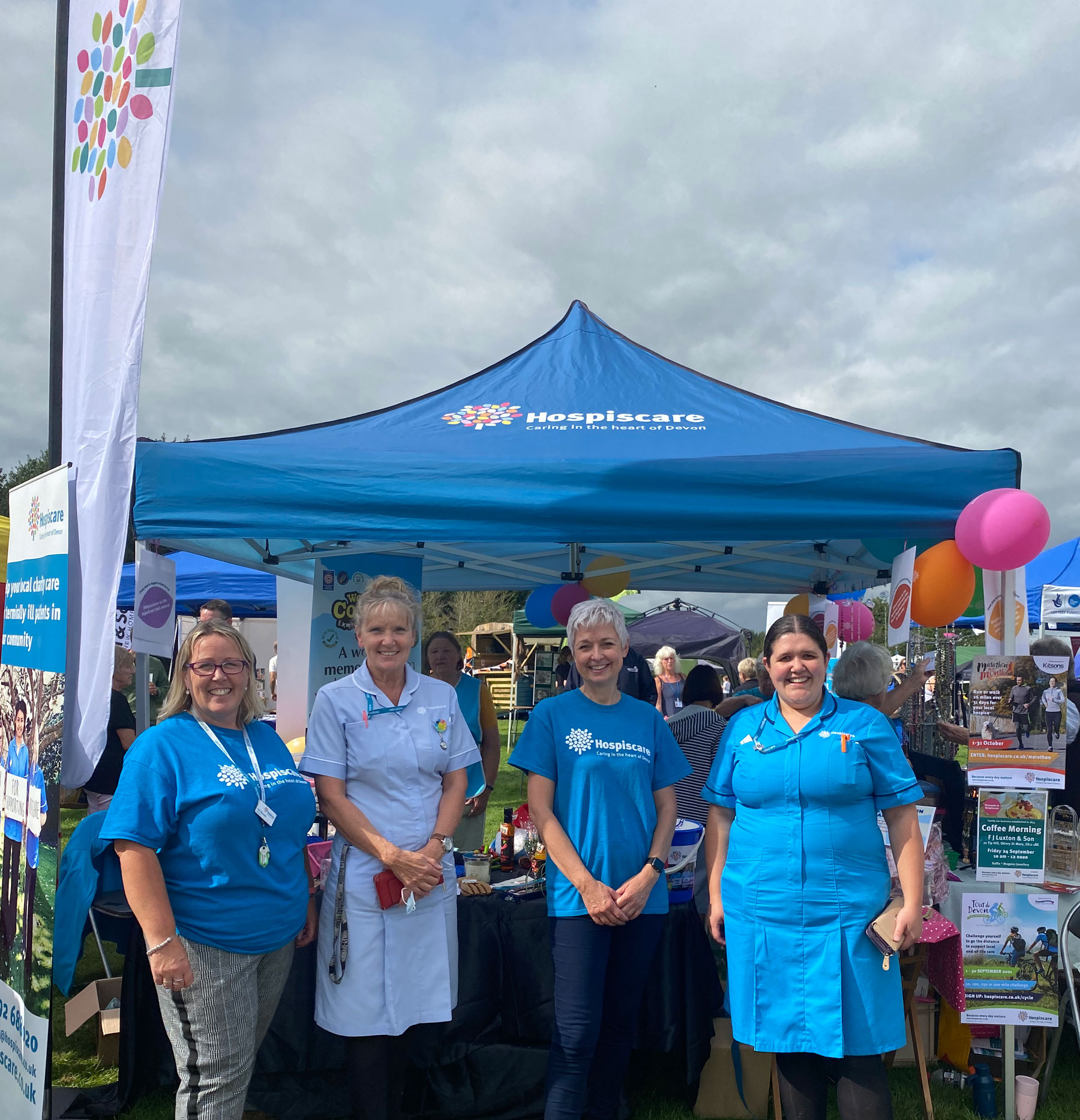 Hospiscare Heroes – From sunflower picking to family food festivals
