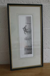 A signed print